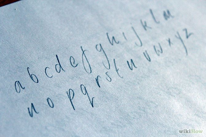 How to Develop Your Own Handwriting Style: 8 Steps