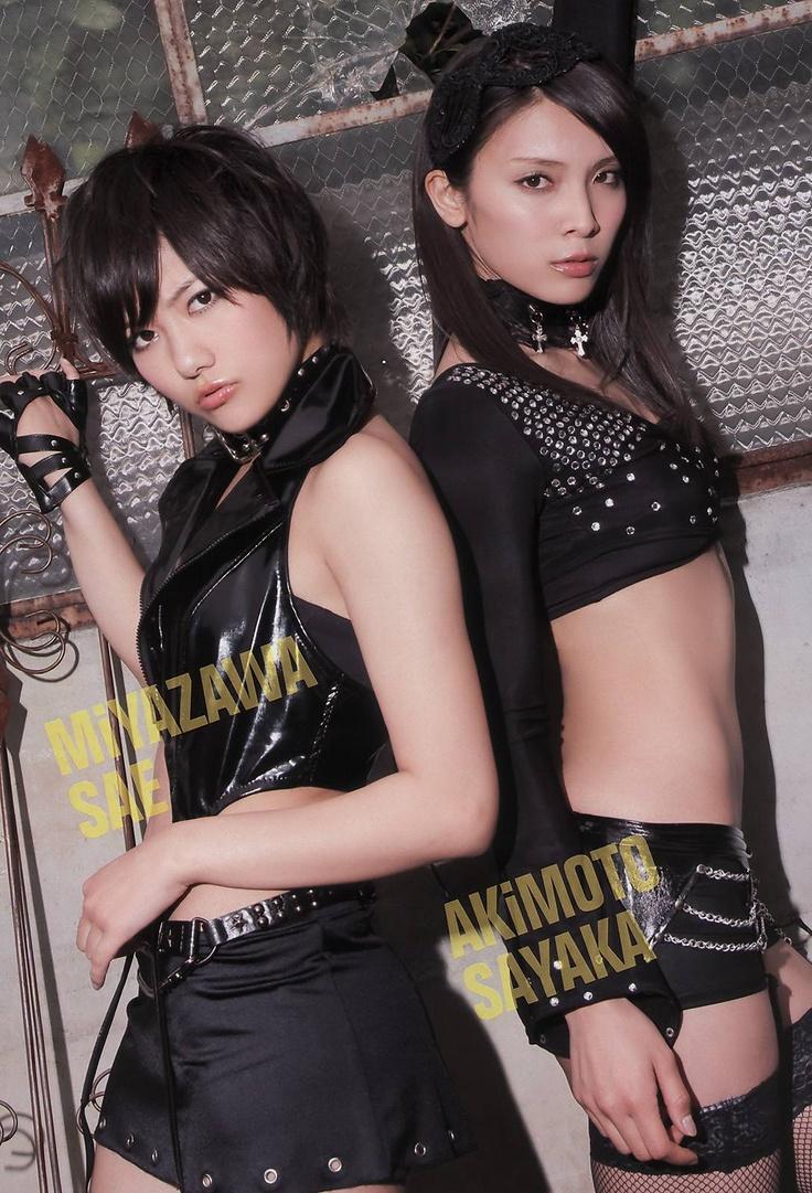 Miyazawa Sae, Akimoto Sayaka #AKB48