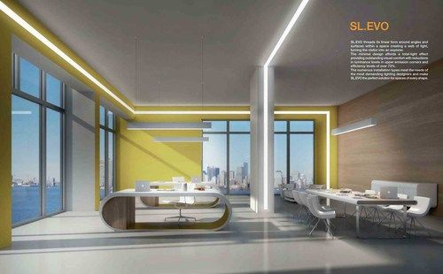 Linear Led And T5 Lighting System Recessed Surface And
