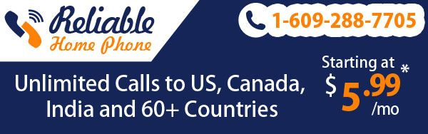 Enjoy #unlimited #international #calls from your #home #phone  to more than 60 #countries. with a #plan that lets you make and receive calls on your #home #phone. Toll Free: +1-888-778-9335, www.reliablehomephone.com