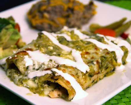 Angie's Enchiladas Verdes Recipe