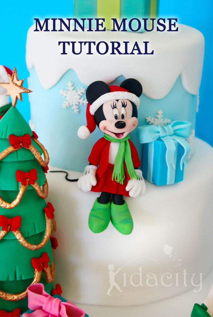 Minnie Mouse Tutorial By Kidacity