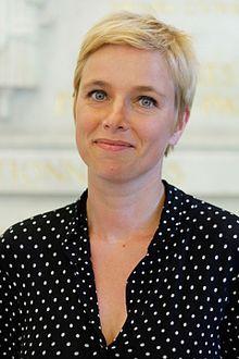 Clémentine Autain à l'Assemblée nationale en 2017.