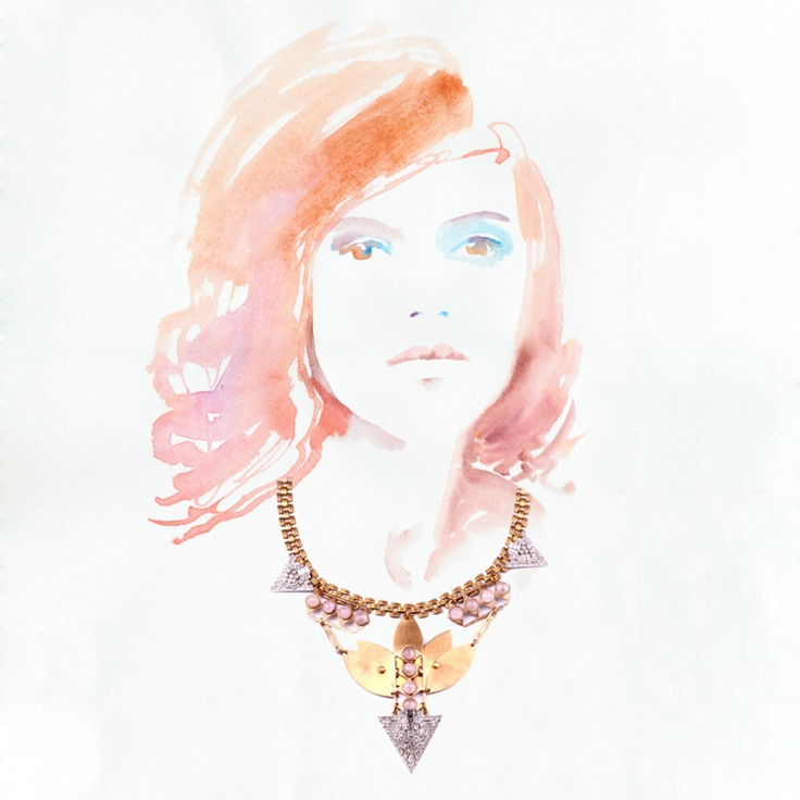 Lulu Frost- I love how this site uses illustrations instead of on-model shots to display the product! So cute.
