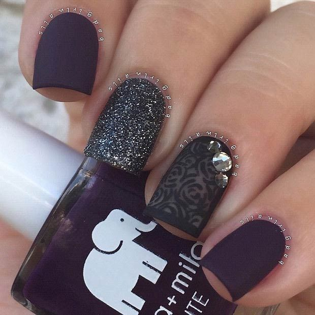 25 Matte Nail Designs You'll Want to Copy this Fall ...