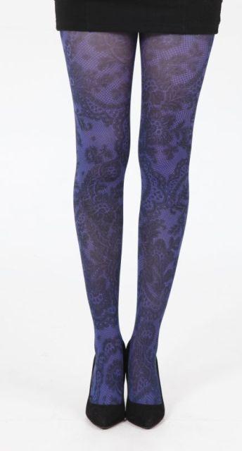 Lace Frill Purple-sukkikset - ASUSTEET - Sukkahousut ja Legginsit - Sukkahousut - Underground Store & Piercing Studio