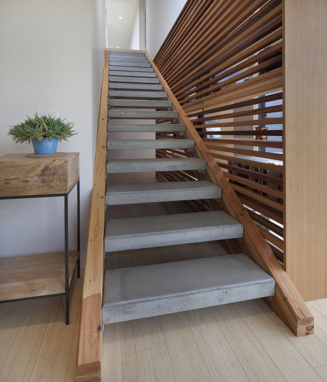112 best images about prefab outdoor steps on pinterest for Pre built stairs interior