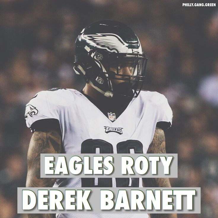 Derek Barnett is my Rookie of the Year on the Philadelphia Eagles. It was hard to decide between Barnett and Clement but I chose Barnett. The only reason why I chose Barnett over Clement was because he proved me wrong. When the Eagles drafted Barnett with the 14th overall pick I was upset. We passed on Malik Hooker best coverage safety in the draft Reuben Foster Tredavious White Marlon Humphrey etc.. I thought it was the wrong pick and I thought the Eagles chose need over talent. Now hes one…