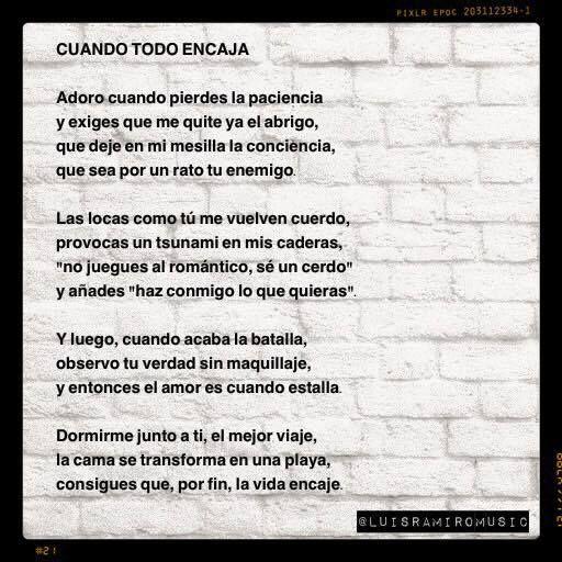 """Luis Ramiro, del libro de poemas """"Te odio como nunca quise a nadie"""""""