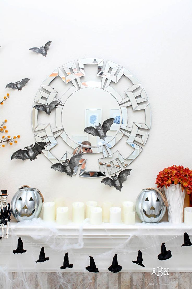 5 tried and true Halloween mantle ideas