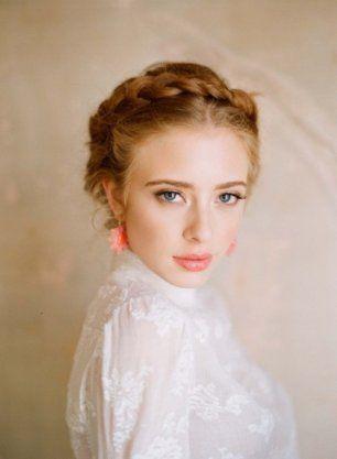 Нейтральный макияж невесты