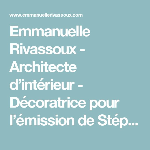 25 Best Ideas About Emmanuelle Rivassoux Pinterest