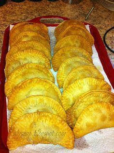 Puerto Rican Beef Empanada These might be worth a splurge!!