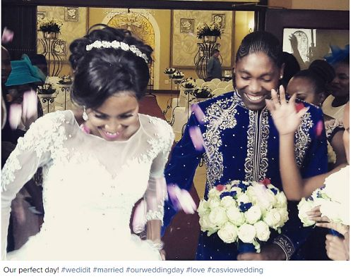 South African 800m Athlete Caster Semenya Ties The Knot With Another Female (Photos)