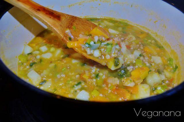 Sopa de Legumes com Trigo Sarraceno