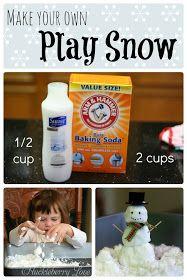 Huckleberry Love: Huckleberry Life: Play Snow {Sensory Activity}