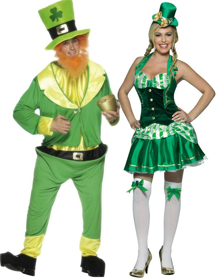 Met deze Ierse carnavalskleding voor koppels zal u perfect in het groen feest kunnen vieren! - Nu verkrijgbaar op Vegaoo.nl