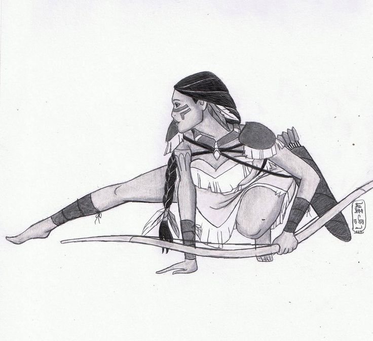 Warrior Princess: Pocahontas by MyWorld1.deviantart.com on @DeviantArt
