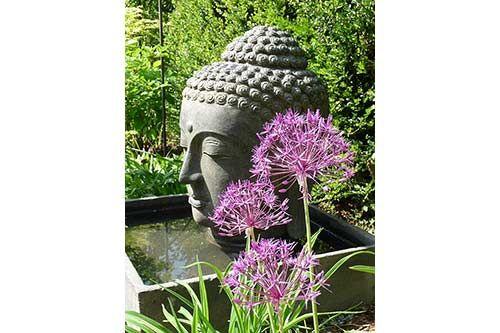 buddha brunnen für den garten