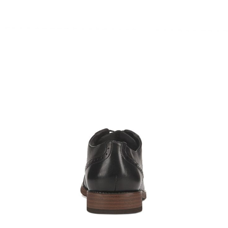 Nunn Bush Men's Middleton Cap Toe Oxford Shoes (Black)