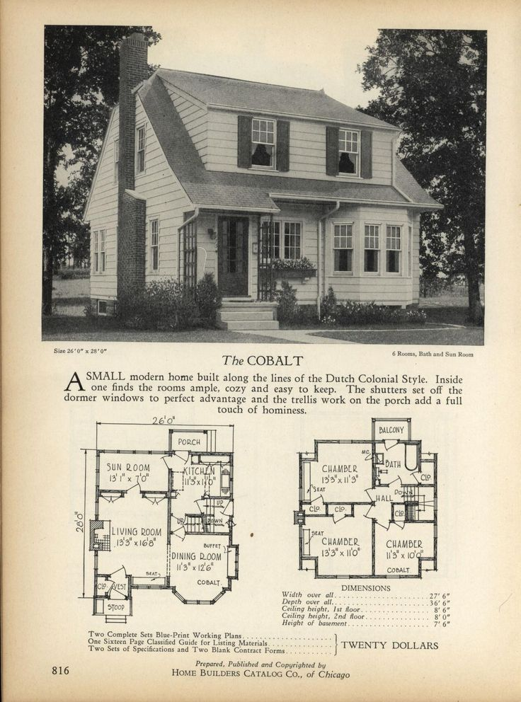 The COBALT Home Builders Catalog plans