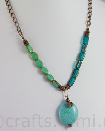 Ocean floor - featured at Jewelry Making Journal