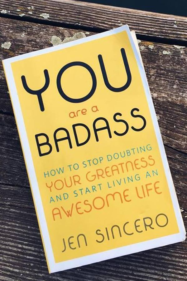 You Are A Badass How To Stop Doubting Your Greatness And Start Living An Awesome Life Books For Self Improvement Book Of Life Motivational Books