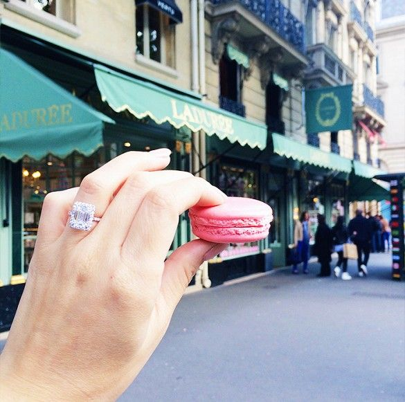 Instagram Opportunity: Macarons from Ladurée // Photogenic Spots in Paris