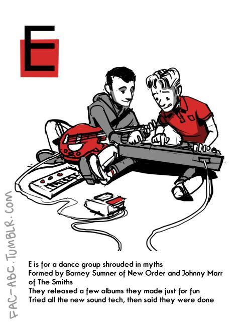 E is for Electronic