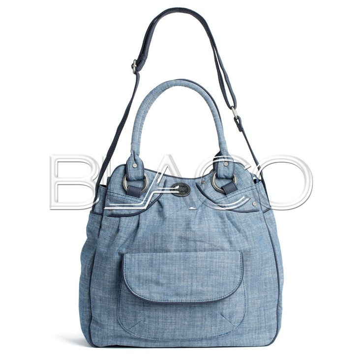 Tommy Hilfiger Lila Denim Tote Denim/Ombre Blue