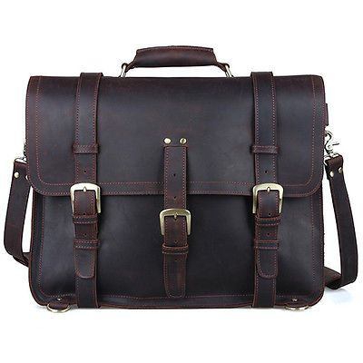 Mens-Large-Genuine-Leather-Backpack-17-Messenger-Bag-Laptop-Weekend-Travel