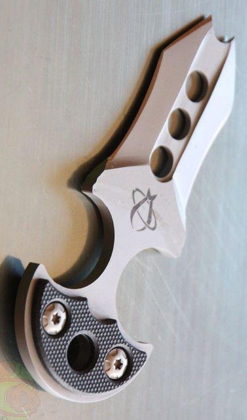 Mantis Knives BK1B Privateer Boot Knife Blade Push Dagger @aegisgears