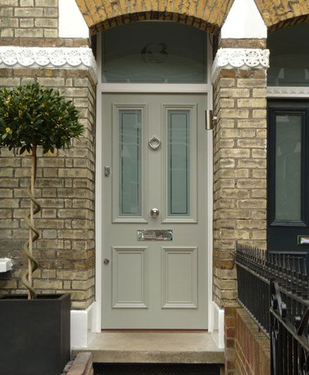 Painted Front Door best 20+ green front doors ideas on pinterest | green doors, front