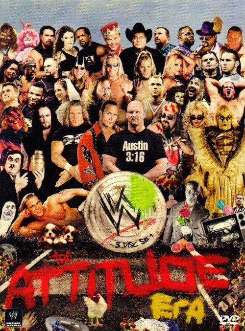 THE ATTITUDE ERA (3 DISC SET) – WWE DVD