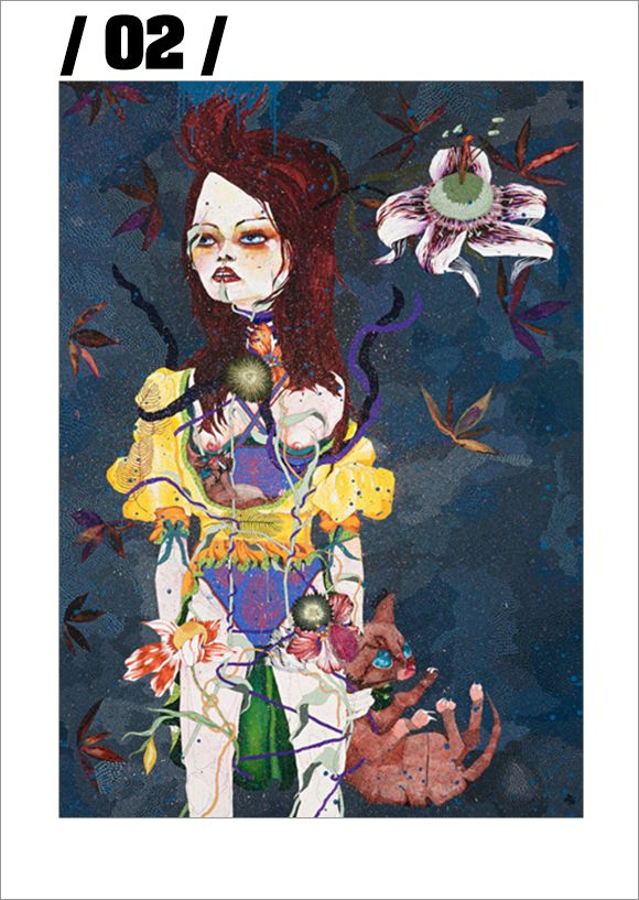 Del Kathryn Barton http://sevenanddot.com/del-kathryn-barton/