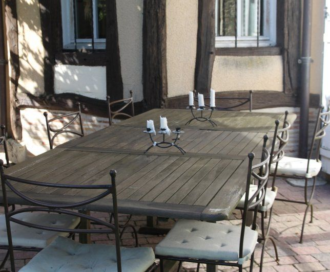 39 best Jardin images on Pinterest Backyard furniture, Chairs and