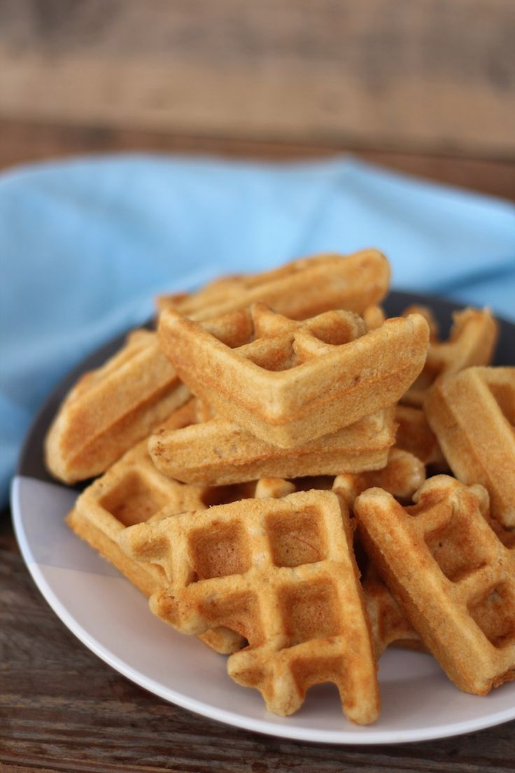 Super Fluffy Cassava Waffles (Paleo, AIP with egg reintro, nut free, gluten free, grain free)