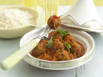 Tagine Recipe with Pork & Beef Meatballs