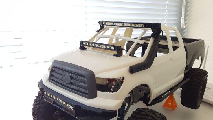 1/10 Hood light bar led for RC crawler truck car Axial Tamiya cfx D90 rc4wd scx1 | eBay