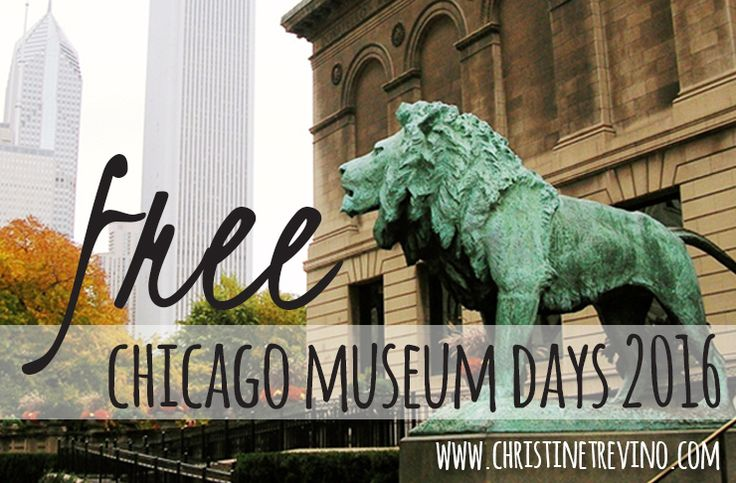Check out 38 Chicago area museums on the best days possible - during FREE Chicago Museum Days 2016.