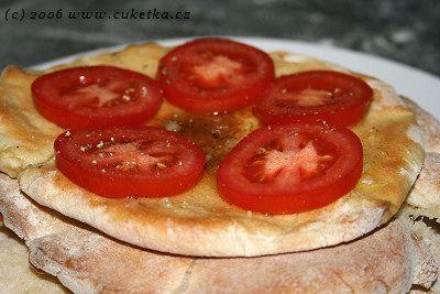 Domácí pita chléb   Cuketka