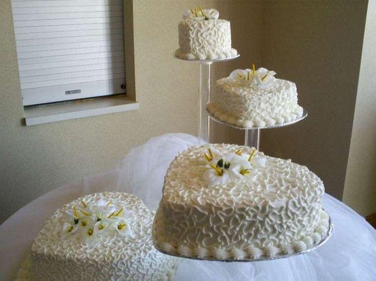 Torte nuziali a forma di cuore  (Foto 29/40) | PourFemme