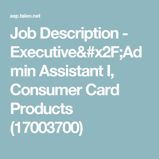 The 25+ best Executive assistant job description ideas on - executive assistant job description