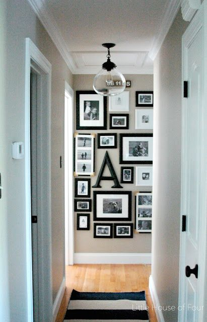 A gorgeous new hallway addition.- Littlehouseoffour.com