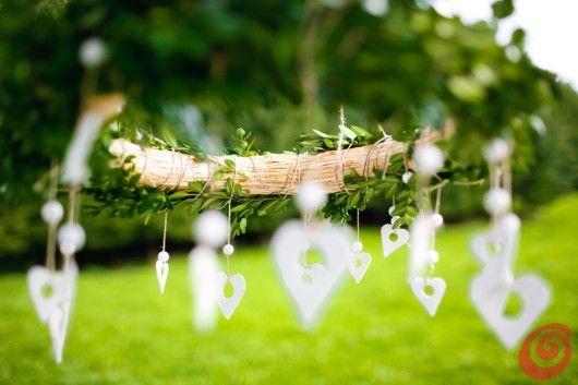 Decorare e apparecchiare la tavola autunnale con le zucche bianche white pumpkin table decoration autumn wedding garland