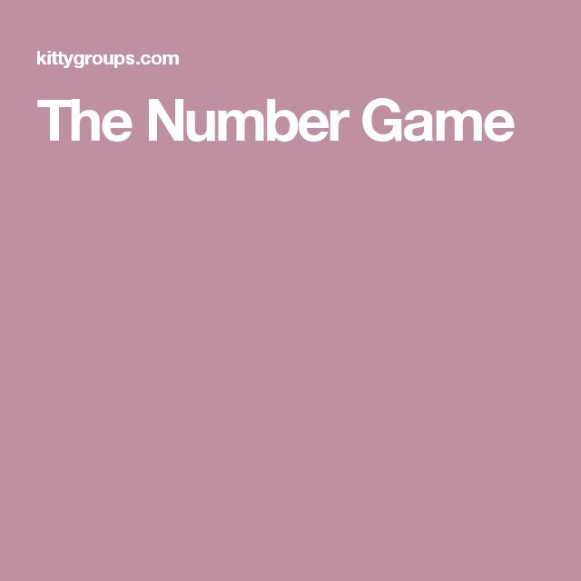 The Number Game