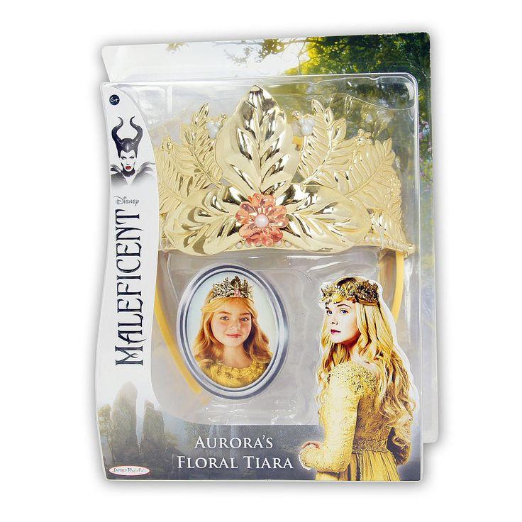Disney Maleficent Aurora's Gold Tiara/Crown Dress Up/Role Play BNIB HTF New #Disney #Dress
