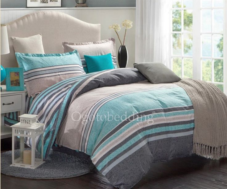 25+ Best Ideas About Teal And Gray Bedding On Pinterest