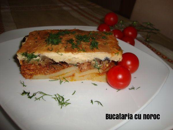 Musaca greceasca - Bucataria cu noroc