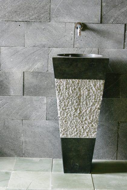 waschbecken f r kleine b der badezimmer pinterest waschbecken ausfallen und kleine b der. Black Bedroom Furniture Sets. Home Design Ideas